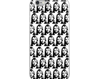 Kurt Cobain Funny Cute iPhone Case - Iphone 7 case - Iphone 8 case - Iphone 7 plus case - Iphone 6 case - Iphone X case