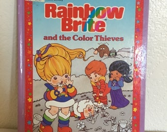 1984 Rainbow Brite and the Color Thieves Book