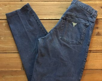 Vintage Men's Guess Pascal Relaxed Tapered Leg Jeans Size 32
