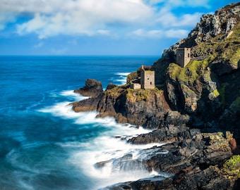Coastal Art, Coastal, Coastal Picture, Sea Art, Coastal Photography, Seaside Print, Seaside Art, Blue Sky, Blue Sky Horizons