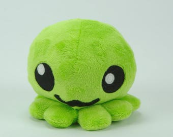 Lime green Octopus
