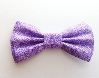 Bow Tie, Mens Bow Tie, Dad and Son Bow Ties, Lavender Bow Tie, Father Son Bow Ties, Groomsmen Bow Tie, Purple Bow Tie,  Boys Bow Tie  DS724