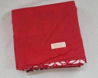 Fleece and Cotton Blanket