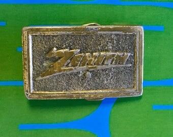 Vintage 1976 Limited Edition Zenith belt buckle