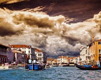 İtaly - Venice - Venezia Canal Life