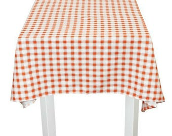 Handmade Linen Tablecloth,plaid Tartan Tablecloth Linen,eco Linen Boho Table  Cloth,dining