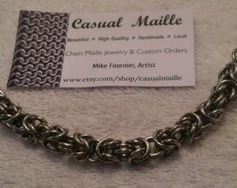"Byzantine Bracelet 7""-8"" (Large Rings)"