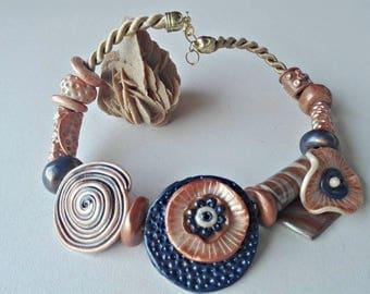 Unique stylish necklace