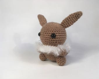 Crocheted Eevee Plush