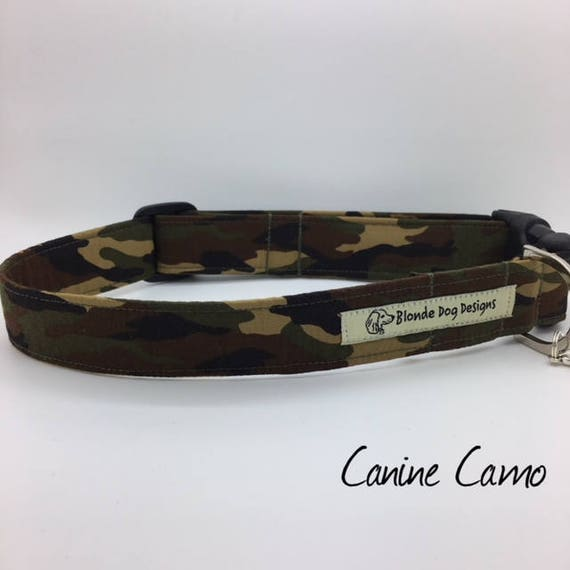 Camouflage Collar, or, Camouflage Dog Lead, Canine Camo, Camouflage Lead, Camo Dog Collar, Dog Collar UK