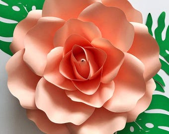 12 petal flower template - pdf paper flower template digital version now including the