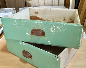 NEW:  Old Kitchen Cabinet Drawers