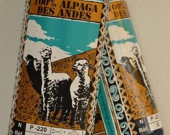 "Wool plassard ""alpaca"" lavender blue"