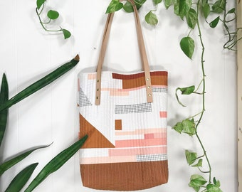 QUILTED TOTE 001