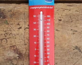 Thermometer Mont Blanc milk on enamel