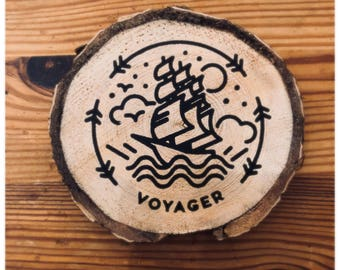 Voyager Wooden Coaster