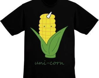 Unicorn Uni Corn Cob With Horn Men's T-shirt