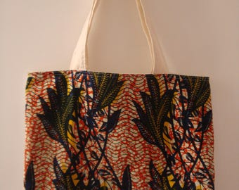 Tote bag bi - color reversible