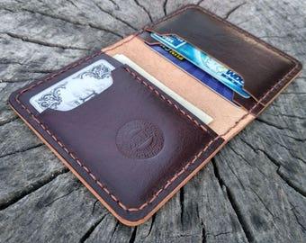 leather card holder card case leather wallet credit card holder gift for boyfriend dad gifts for him business card holder minimalist wallet