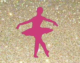 Dance decal, dancer decal, dancer teacher decal, car decal, vinyl decal, decals, dance, dancer, dance mom decal, dance mom, ballet dancer.