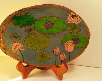 Whimsical Lily Pond