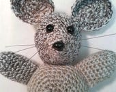 Patrick  Crochet Mouse Belly Button Beast Plushie