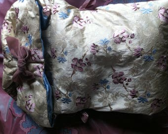 Nest ' angels pattern Embroidered silk Petit Trianon