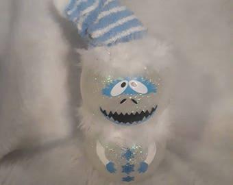 Abominable snowman figurine