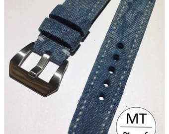 I sell vintage jeans and Handmade Leather strap 20 mm strap News