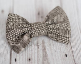 Dog Bow Tie   Wedding Dog Bow Tie   Christmas Dog Bow Tie   Brown Dog Bow Tie   Gift For Pet   Luxury Dog Gift   UK   Bowtie