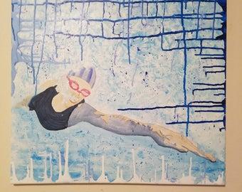 Swimmer, swim meet