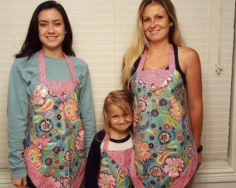 Mom and Me Matching Aprons