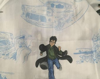 Harry Potter fitted twin sheet
