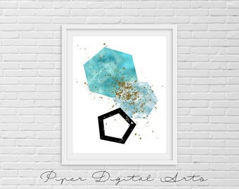 Scandinavian Abstract Printable - Wall decor