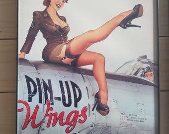 Air force Military Pin-up Girl