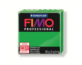 Polymer clay Fimo Pro 85 g - green n ° 5