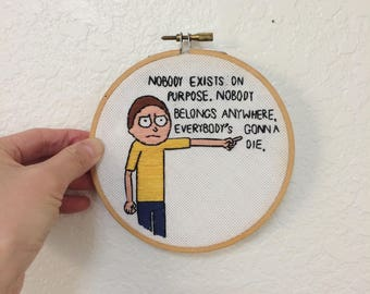Rick and Morty Stitching / Fan Art