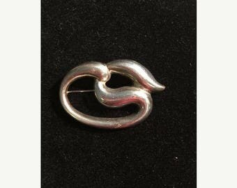 Pre-sale Sterling Silver 925  Bayanihan Brooch/925 brooch/Sterling Silver Brooch/Bayanihan Pin/Abstract Design Brooch/Sterling Brooch/Sterli