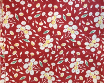 Red Rooster  Amy Barick Vintage Workshop DSN 20254            -- 1 yard cuts