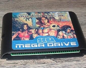 Game Megadrive Mega Drive Genesis: Golden Axe III Customized