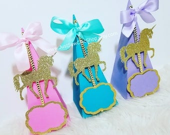Unicorn Treat Boxes