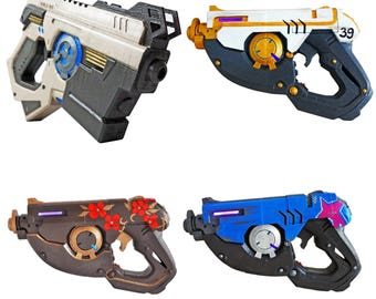 "Tracer Pulse Pistols with LED""s from Overwatch. Prop / Replica / Cosplay"