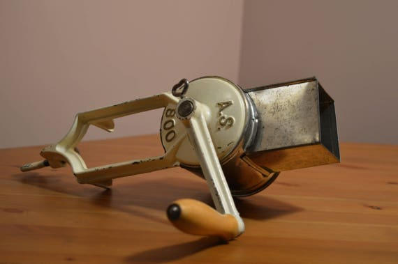 AS 800 made in Germany counter mount hand crank