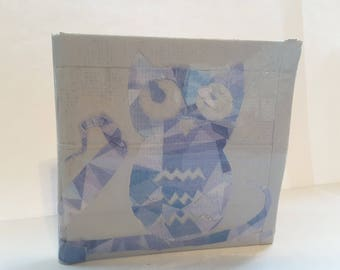 Owl Design Duct Tape Wallet