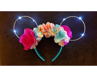 Sleeping Beauty (Aurora) Light Up Wire Ears