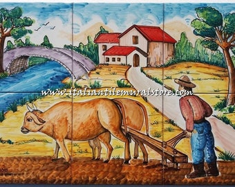 Mural Tiles backsplash factory