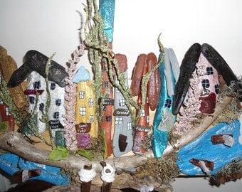 driftwood village art