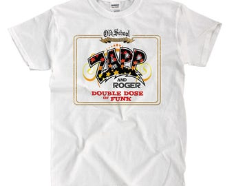 Zap And Roger Double Dose White T-Shirt