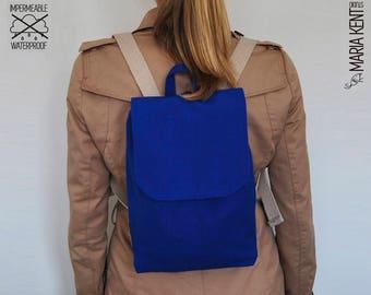 Mini Backpack - Waterproof in blue