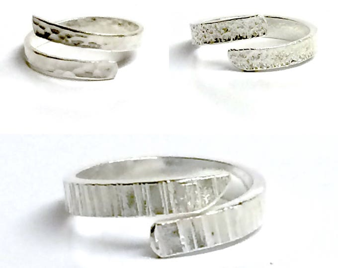 Adjustable Ring (Choose From 3 Different Textures)